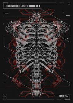 Poster Design Human Body With Futuristic Hud Elements. Hologram Human Anatomy And Skeleton. Graphic Design Lessons, Graphic Design Posters, Graphic Design Inspiration, Graphic Art, Poster Designs, Cyberpunk Character, Cyberpunk Art, Cool Anime Wallpapers, Animes Wallpapers