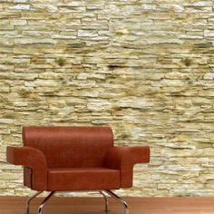 Adesivo Decorativo - Adesivo de Parede: Papel de Parede Pedra Pirenópolis - Deccolar Adesivos Decorativos