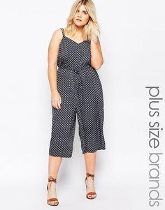 16a4543a0b5 Diya Plus Culotte Jumpsuit - Plus Size Cheap Plus Size Clothing