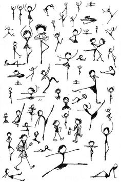 stick figure dancing - Google Search