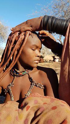 African American Beauty, African Beauty, African Women, Tribal Women, Tribal People, Black Is Beautiful, Beautiful People, Himba Girl, Africa Tribes