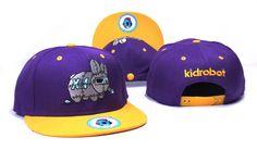 Kidrobot Snapback Caps & Hats yellow purple-XSJ6195