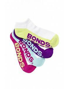 Stocking Stuffers Bonds Womens Logo Low Cut 4pk Assorted 24 A24