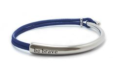 Bravelets donates $10 from each item purchased back to the associated cause!