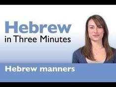 Learn Hebrew - How to Greet People in Hebrew. Learn Hebrew with HebrewPod101.com #Israel #Jerusalem #Hebrew #howtolearnarabic #howtospeakhebrew
