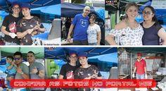 Dia da Feira, evento com barracas de comidas típica do Brasil. O público presente puderam saborear pastel de feira e beber um caldo de cana e para completar o espeto especial.