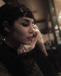 Kat Von D has a new boyfriend, apparently Biker Tattoos, Bad Tattoos, Girl Tattoos, Tattoos For Women, Tattoo Tradicional, Grim Reaper Tattoo, Chic Tattoo, Kat Von D Tattoos, The Kat