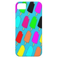 Popsicles iphone 5 Case
