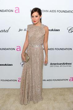 ASHLEY TISDALE/ELTON JOHN AIDS FOUNDATION OSCAR PARTY/2011 www.jennypackham.com #jennypackham