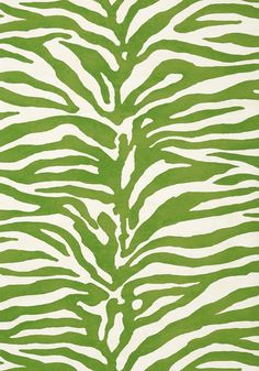 SERENGETI, Green, T85030, Collection Greenwood from Thibaut