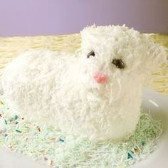 "Easter Lamb Cake II | ""I followed the recipe exactly and the cake was perfect."""