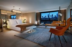 Presidential suite. SLS Hotel Beverly Hills. Blend of Beverly Hills Luxury and LA Style. By Hotelied.