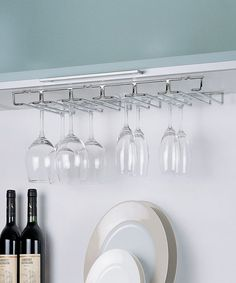 Another great find on #zulily! Large Stemware Holder by Organize It All #zulilyfinds