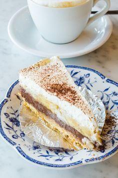 Receita de Banoffee. Receita fácil de fazer, bonita, barata e surpreendente no sabor. Experimente a torta Banoffee! Hum!!