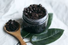 Tighten & Tone: Homemade Coconut Coffee Body Scrub