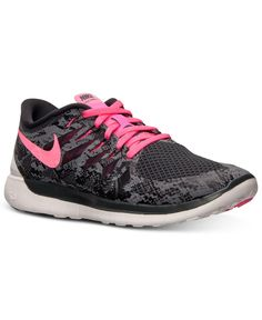 newest 03661 5ddc3 Nike Women s Free 5.0 Premium Running Sneakers from Finish Line Nike  Outfits, Running Shoes,
