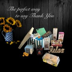 Find the perfect way to say thank you Gourmet Gift Baskets, Gourmet Gifts, Luxury Hampers, Hamper Ideas, Gift Store, Luxury Gifts, Beautiful Gift Boxes, Sayings, Lyrics
