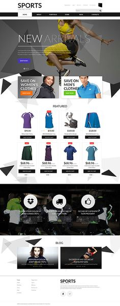 Template 51897 - Store Athletic  Responsive WooCommerce  Theme