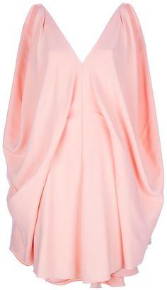 BALENCIAGA Pleated Panel Dress - Lyst