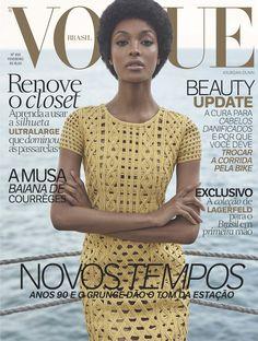 Jourdan Dunn by Zee Nunes Vogue Brasil February 2016