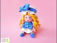 Modellaggio: Bambolina in pasta di mais - Modeling: maize dough Dolly - YouTube