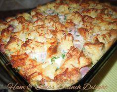 Melissa's Southern Style Kitchen: Ham  Swiss Brunch Delight