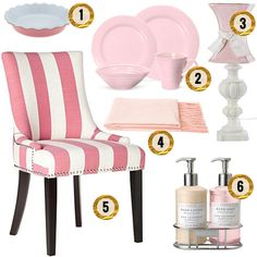 AT HOME: PASTEL PINK DECOR | HAMPTONS STYLE