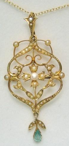 53 best beautiful lavalier pendants images on pinterest ancient edwardian pearl and aquamarine lavalier pendantbrooch necklace via diamonds in the library aloadofball Gallery