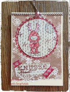 Ingrid's scrapfrutsels: Christmas in.....