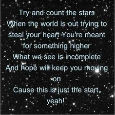 """Count The Stars"" by Everfound. LOVE THIS SONG! #lyrics"