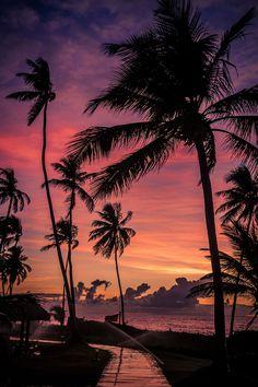 Sunrise in Salvador de Bahia, Brasil