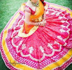 Beautiful half saree