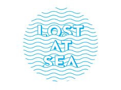 "He repeatedly says he is lost at sea and he doubts survival. A part of the title of the book is Days Lost at Sea"". Graphic Design Posters, Graphic Design Illustration, Hang Ten, Logo Inspiration, Identity Design, Logo Design, Sea Logo, Resort Logo, Waves Logo"