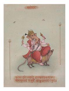 Mahodar - Ganesh Kali Yantra, Shiva Shakti, Jai Ganesh, Ganesh Lord, Ganesh Ji Images, Lord Ganesha Paintings, Indian Art Paintings, Goddess Art, Indian Artist