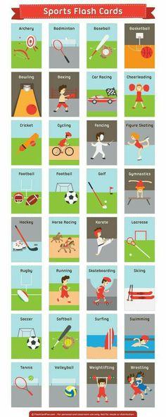 Spor ile ilgili İngilizce kelimeler