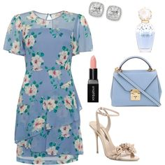 A fashion look from August 2017 featuring Sophia Webster sandals, Mark Cross handbags and Frederic Sage earrings. Browse and shop related looks.