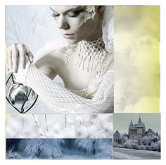"""""""The Faerie Who Turned the World to Ice"""" by enchanticals ❤ liked on Polyvore featuring art"""