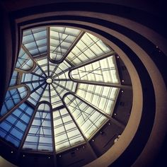 Frank Lloyd Wright's Guggenheim (1959), New York City