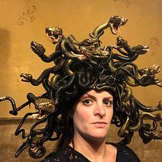 Medusa headdress | Etsy Medusa Headpiece, Headdress, Saint Costume, Original Design, Hair Comb, Corset, Bobby Pins, Halo, Sculpting