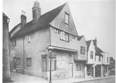 Walters Yard off West Stockwell Streetc1900