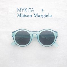 MYKITA + Maison Margiela welcome: D7-Teal/Petrol, the first of two new colourways for the DUAL sunglasses collection. Now available in selected stores worldwide. Discover the complete collection: http://my-k.it/mm