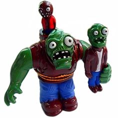Eamarket Plants Vs Zombies PVC Toys Gargantuar >>> For more information, visit image link.Note:It is affiliate link to Amazon. #ZombieWorld