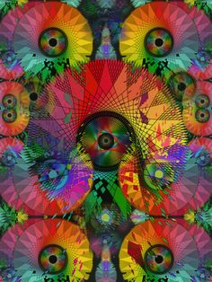 View more of this artists fractal work at http://layeredbeauty.tumblr.com