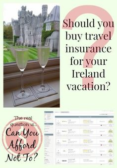 Should You Buy Travel Insurance for Your Ireland Vacation? Tips to help you weigh your risks, figure out what you already have, and decide what you need.