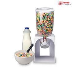 Home Basics 3qt Cereal Storage & Dispenser at 81% Savings off Retail!