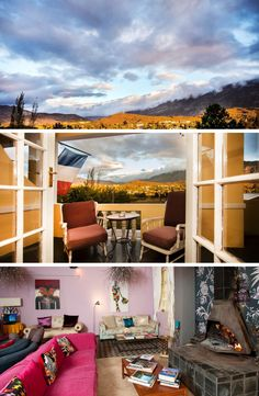 The Karoo Art Hotel is nothing but dreaming with wide open views of the Karoo plains, real Karoo hospitality and quirky décor! #decor #livingroom #karoo #southafrica #KarooPlains #openviews #smalltownlife