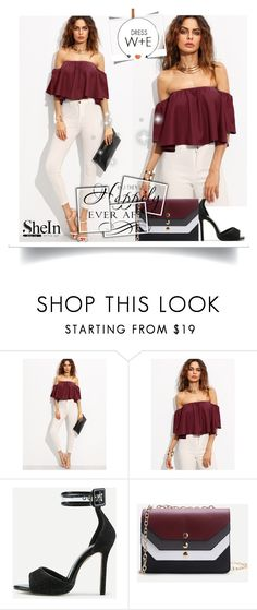 """""""Shein6"""" by adelisa56 ❤ liked on Polyvore featuring WithChic, WALL and shein"""