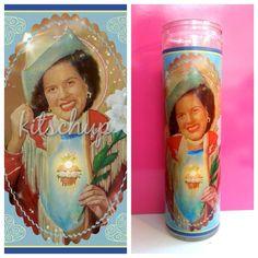 Patsy Cline Prayer Candle