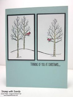White Christmas Sneak Peek for STS27 by stampwithsandy - Cards and Paper Crafts at Splitcoaststampers