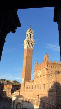 Torre del Mangia - Piazza del Campo
